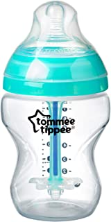 Tommee Tippee Advanced Anti Colic Newborn Baby Feeding Bottle with Heat Sensing Wand, 260ml 1,260ml, 113 grams