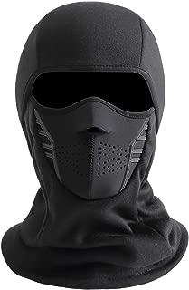 IRELIA Winter Windproof Fleece Ski Mask Balaclava Headwear Motorcycle Thermal Face Mask
