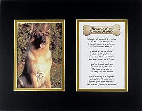 german shepherd memorial poems