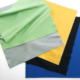 Paños de Limpieza de Microfibra Grandes Eco-Fused - Paquete de 5 – 8 x 8 pulgadas – Perfectos para Pantallas Grandes de TV y Monitores de Computadora - También para Limpiar Antojos Lentes de Cámara Laptops y Pantallas LCD