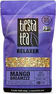 Tiesta Tea Mango DreamZZZ, Mango Chamomile Herbal Tea, 200 Servings, 12 Ounce Bag, Caffeine Free, Loose Leaf Herbal Tea Relaxer Blend, Non-GMO
