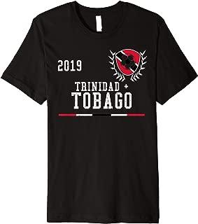 Trinidad & Tobago Football Jersey Trinidadian Soccer Jersey Premium T-Shirt