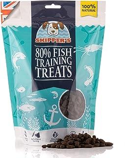 """SKIPPER""""S 80% Fish Training Treats Trainingsbelohnungen für Hunde & Welpen 500g - 80% Fisch und 20% Kartoffeln & Süßkartoffeln - 100% natürliche & Getreidefreie Hundebelohnungen"""