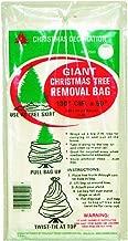 "Holiday Trims Tree Removal Bag (1 Bag), 144"" Circumference x 90"" Tall (0.75 Mil)"
