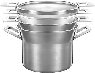 Castey - Batería De Cocina Artic Trimetal 28 cm