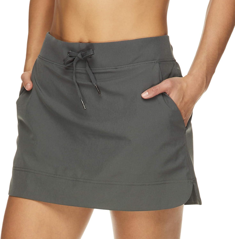 Gaiam 4 years warranty Women's High Waisted Yoga Skirt Running Dance Tennis S half -