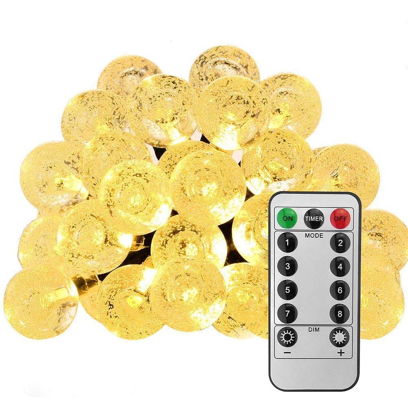 ブラウス拘束ポータブルANBURT LEDストリングライト LED電球*50個 5メートル 連結可能 クリスマス 結婚式 パーティー電飾 花火会