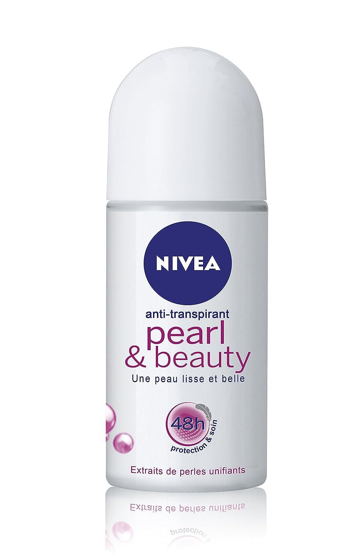 Max 45% OFF Nivea Pearl Beauty Roll-On 50 ml Deodorant High quality