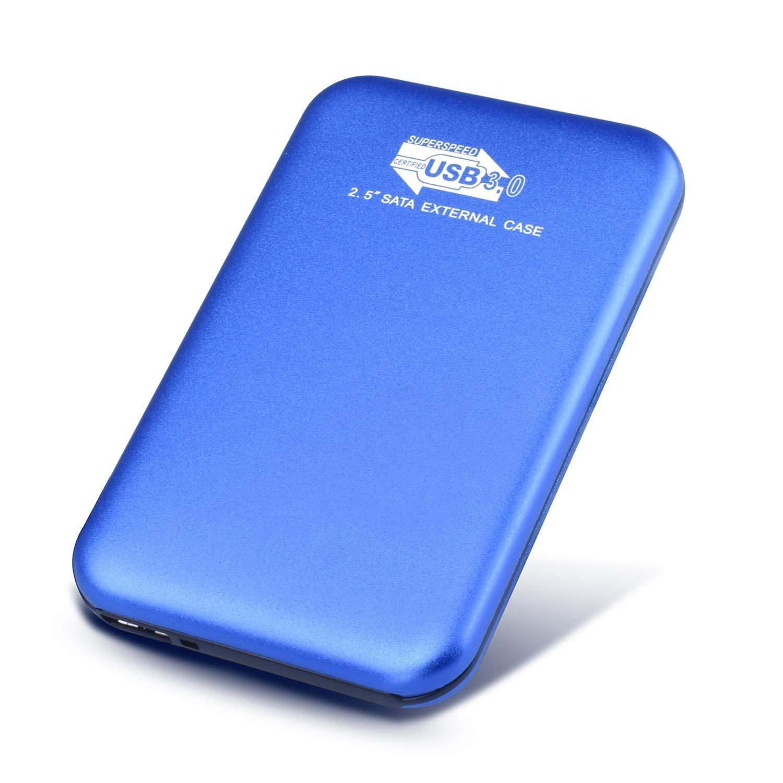 Disco Duro Externo 2 TB, USB3.0 Disco Duro Externo para PC, Mac, MacBook, Xbox One (2TB,Azul): Amazon.es: Electrónica