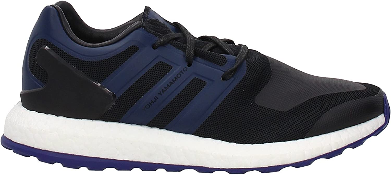Adidas Y-3 Herren Y-3 Pure Boost Turnschuhe Schuhe -Schwarz Blau