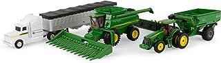 TOMY ERTL John Deere Harvesting Set, 1:64 Scale