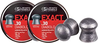 JSB 546030-150 Diablo Exact Air Gun Pellets .30 Cal, 46.3 Grains, 150ct, 2 Pack