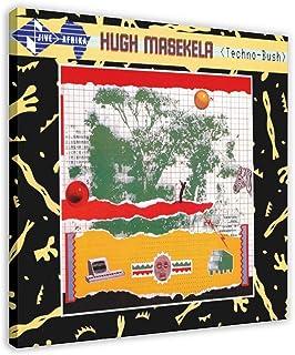 Hugh Masekela's Album copertina – Techno-Bush tela poster decorazione da parete pittura pittura per soggiorno camera da le...