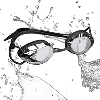 rabofly Swim Goggles, Swimming Goggles No Leaking Anti Fog UV Protection Clear Vision Triathlon Goggles for Adult Youth Kids