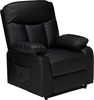 "Christopher Knight Home 298313 Edenton Power Lift Up Recliner Chair, 37.01""D x 35.04""W x 42.92""H, Black"
