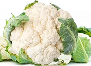 Early White Hybrid Cauliflower Seeds (52 Days) 360 Seeds UPC 646263361719 + 2 Free Plant Markers