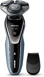 Philips SHAVER Series 5000 - Afeitadora (Rotation shaver, Negro, Plata, Batería, Ión de litio, Integrado, 50 min)