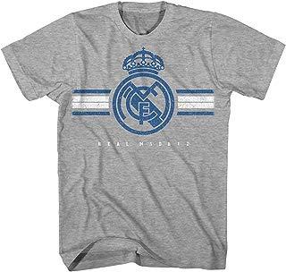 Real Madrid Distressed Vintage Adult Logo Men's T-Shirt