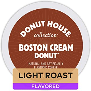 Donut House Collection Boston Cream Donut, Keurig K-Cups, Count 12, 3.9 Oz (Pack of 6)