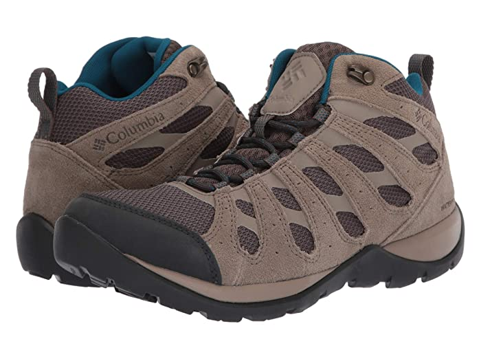 Columbia  Redmondtm V2 Mid Waterproof (Mud/Lagoon) Womens Hiking Boots
