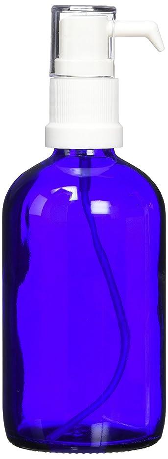 櫛やむを得ない整理するease ポンプ ガラス 青色 100ml