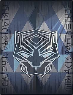Marvel Black Panther Plush Throw Blanket - 46
