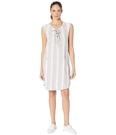 Columbia Summer Timetm Dress (Flint Grey Vertical Stripe) Women