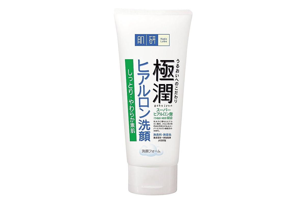 禁輸むしゃむしゃクルーズ肌研(ハダラボ) 極潤  ヒアルロン 洗顔フォーム 100g
