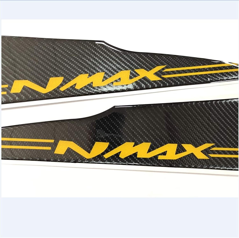 Color : Blue Fibra di carbonio for moto protezione 3D in resina delle decalcomanie rilievo del carro armato Sticker Fit For YAMAHA N MAX 155 NMAX 155 Adesivo per serbatoio carburante per