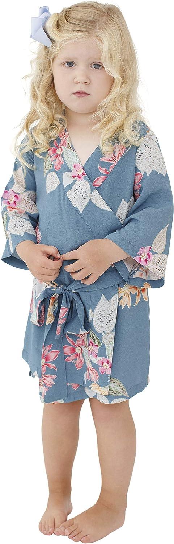 PLUM PRETTY SUGAR Flower Girl Kimono Style Robe. Boheme
