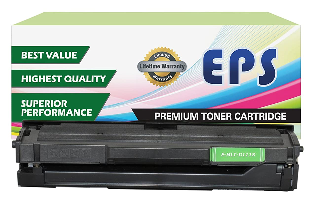 EPS Replacement Toner Cartridge Replacement for Samsung MLT-D111S 111S ( Black , 1 pk )