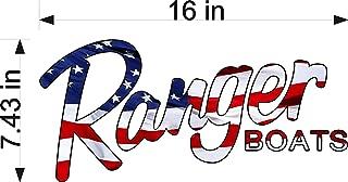 Ranger Boats America Logo Decal 7.5x16