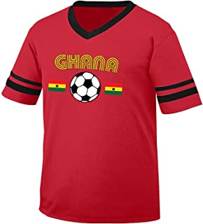 ghana retro football shirt