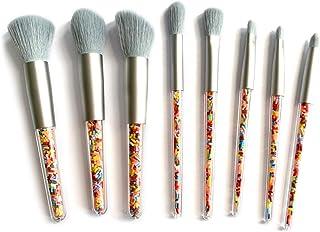 Myboree Candy Makeup Brush Set Cosmetic Brush Kit Powder Blush Shadow Highlight Blending Brushes 8 Pcs