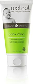 Wotnot Natural and Organic Baby Lotion 150 ml, 5.07 fl.oz