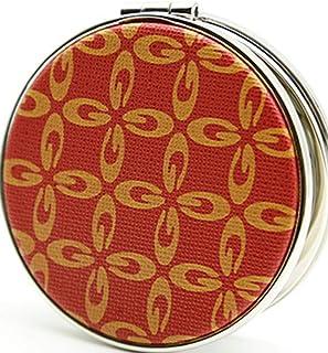 Makeup Mirror, Folding Portable Vanity Mirror, Circular Magnifying Mirror, Large Red Clover Detazhi