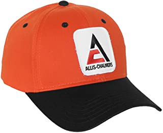 Allis Chalmers Hat, New Logo, Orange and Black