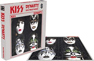 Kiss Jigsaw Puzzle Dynasty Album Cover Official 500 Piece One Size