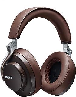 SHURE シュア AONIC 50 ワイヤレス・ノイズキャンセリング・ヘッドホン SBH2350-BR-J ブラウン : 密閉型/外音取り込み/Bluetooth 5.0 / Type-C ケーブル/マイク付き 【国内正規品/メーカー保証2年】