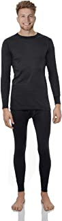 Thermal Underwear for Men Cotton Knit Thermals Men's Base Layer Long John Set