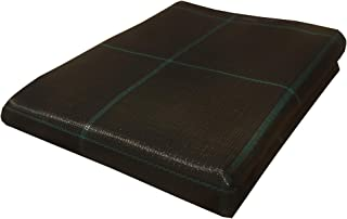 Seinec Malla/Tela Antihierbas Negra 20m² (2 x 10m). Resistente a Roturas. con Protección UV para el Control de Maleza en Jardín y Huertos Ecológicos. Ocultación. Polipropileno (PP)