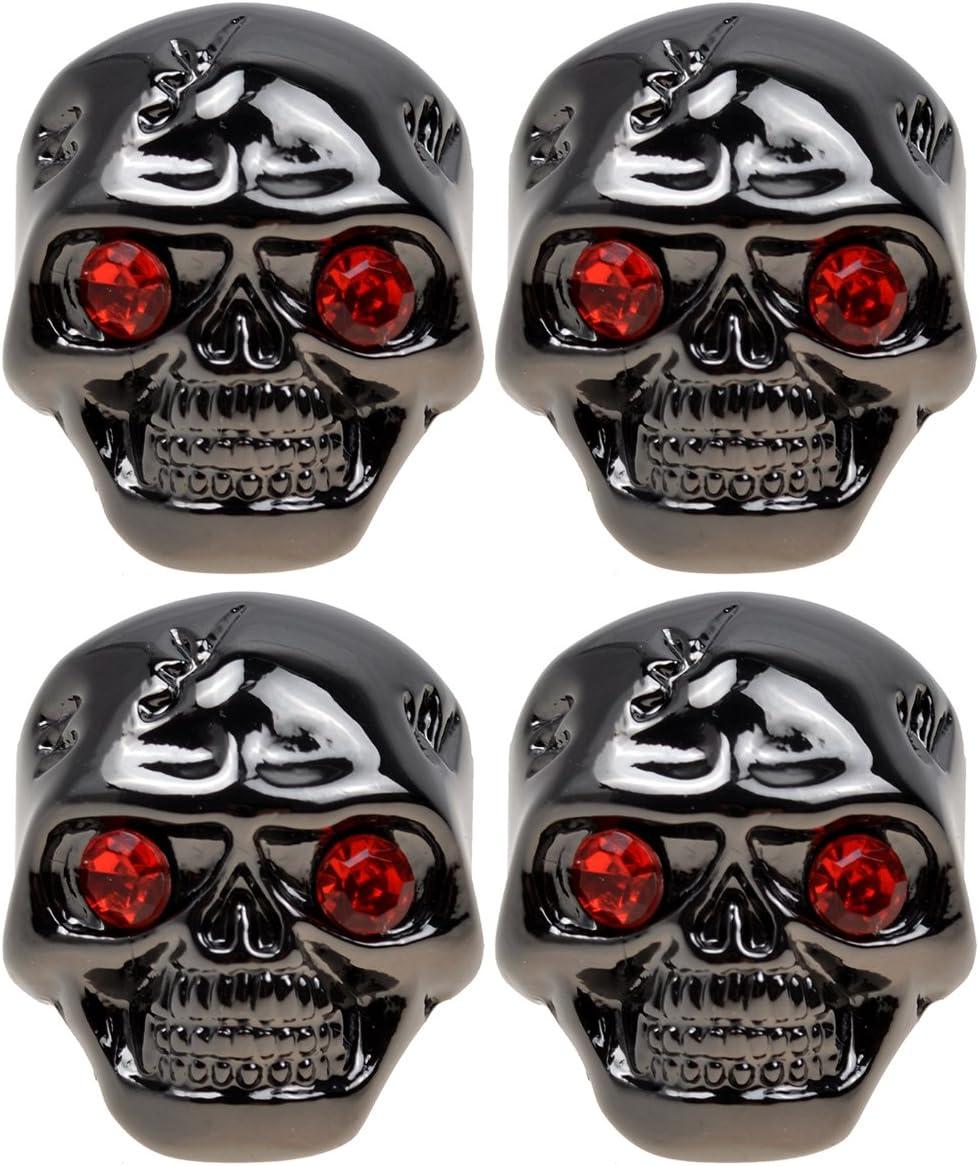 4pcs Black Skull Head Knob Volume Gibson L for Tone Control Max 84% OFF Popular standard