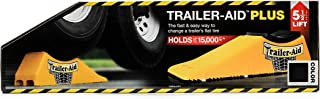 Trailer-Aid Plus Tandem Tire Changing Ramp, The Fast and Easy Way To Change A Trailer's Flat Tire, Holds Upto 15,000 Pounds, 5.5 Inch Lift (Black) (24)