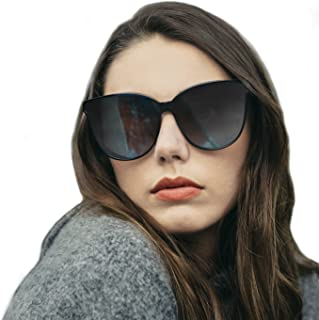 6666c4c516 Amazon.com  womans black sunglasses