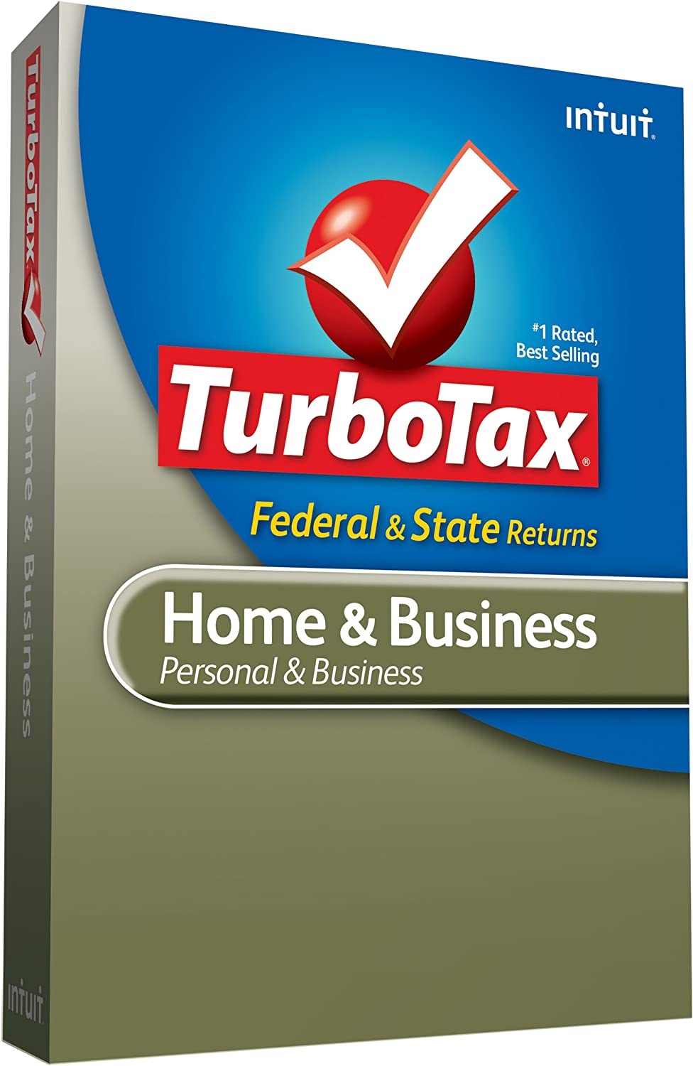 [Old Version] TurboTax Home & Business Federal + State + Federal efile 2009