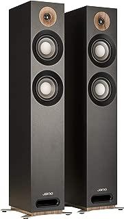 Jamo Studio Series S 807-BLK Black Floorstanding Speakers - Pair