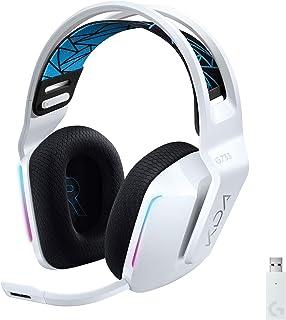 Logitech G733 K/DA LIGHTSPEED Wireless Gaming Headset, LIGHTSYNC RGB, Blue VO!CE Mic, PRO-G Audio, DTS Headphone:X 2.0, Of...