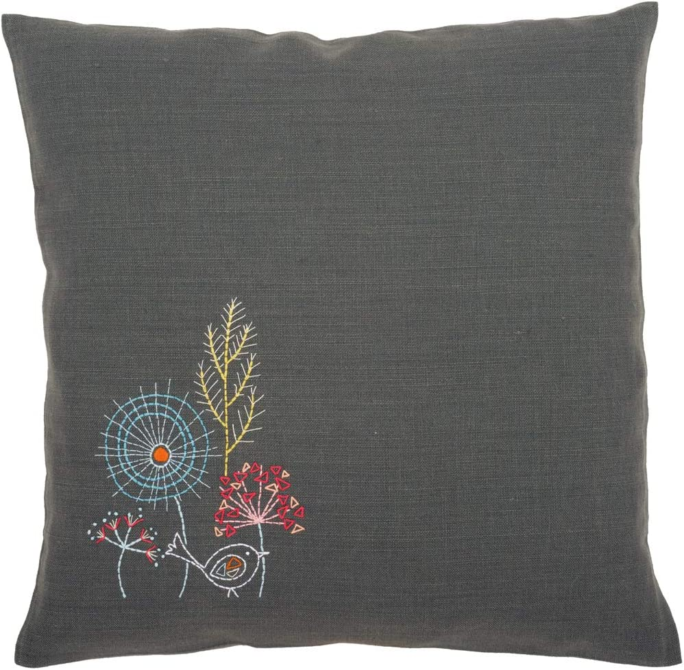 Vervaco Stylized Flowers High material online shop IV Cushion Embroidery 16
