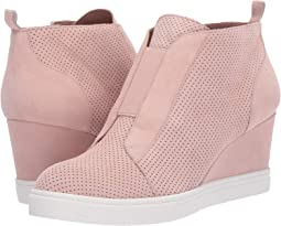 Blush Perforated Kid Suede