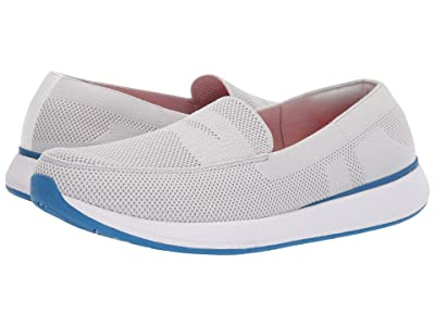 SWIMS Breeze Wave Penny (Alloy/Blitz Blue) Men